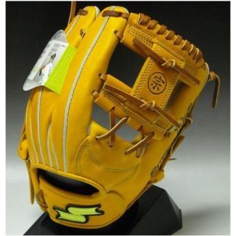 SSK 川崎モデル 一般軟式プロシリーズ 内野手用 SPP052 3747:オレンジ×タン 右投げ