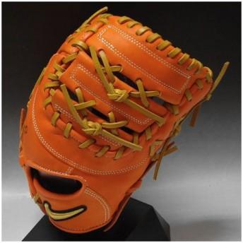 2012年モデル NIKE 少年軟式グラブ ナイキ SHA DO エッジ JR FB 一塁手用 BF1477 オレンジ(801) 右投げ