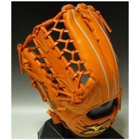 2011年モデル ビクトリーステージ ダイアモンドマスター ICHIRO型 一般軟式 外野手用 2GN30117 51H:クリアオレンジ 左投げ サイズ:15