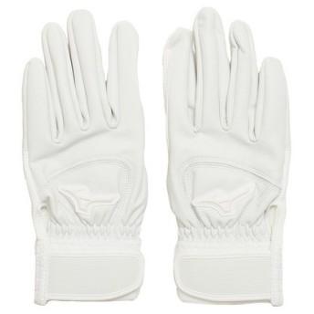 ミズノ(MIZUNO) バッティング手袋 グローバルエリート ゼロスペース 両手用 1EJEH18010 (Men's)