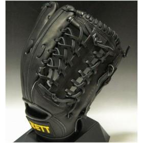2011年モデル 一般軟式 ZETT(ゼット)プロステイタスRNT 外野手用 右投げ(LH) BRGA31017 1900:ブラック