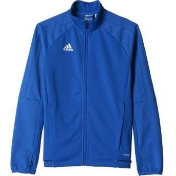 アディダス ADIDAS KIDS TIRO17 トレーニングジャケット [サイズ:J140] [カラー:ブルー×カレッジネイビー×ホワイト] #MMC69-BQ2716
