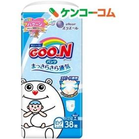 グーン パンツ まっさらさら通気 BIGサイズ 男の子(ハグーン) ( 38枚入 )/ グーン(GOO.N)
