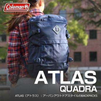 コールマン リュック スクエアリュック coleman バッグ 20L アトラス クアドラ CAT5041