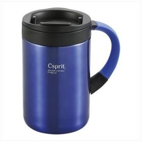 CAPTAIN STAG(キャプテンスタッグ) シーエスプリ ダブルステンレスマグカップ350(ブルー)