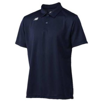 ニューバランス NEW BALANCE ベーシックショートスリーブ ポロシャツ [サイズ:S] [カラー:アビエーター] #JMTT6141-AVI