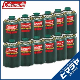 コールマン ガスカートリッジ 純正LPガス燃料[Tタイプ]470g 12個 5103A470T coleman od