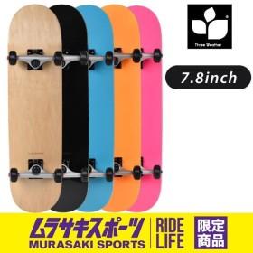 スケートボード コンプリートセット THREE WEATHER スリーウェザー SBMR26 ムラサキスポーツオンラインストア限定 GG G30