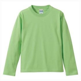 UnitedAthle(ユナイテッドアスレ) 5.6オンスロングスリーブTシャツ(アダルト) ライムグリーン