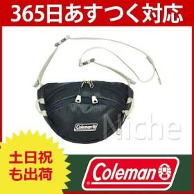 【連休中休まず出荷】 Coleman コールマン マウントトレック チェストバッグ (ブラック)  2000021765 キャンプ用品