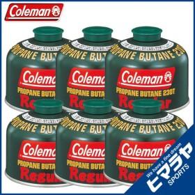 コールマン ガスカートリッジ 純正LPガス燃料[Tタイプ]230g×6個セット 5103A230T coleman od