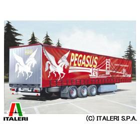 イタレリ ITALERI 1/24 トラック No.3809 カーテンサイドトレーラー