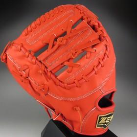 ゼット ZETT 一般硬式一塁手用 左投げ Neostatus ネオステイタス BPFB-12423(5800RH)ディープオレンジ