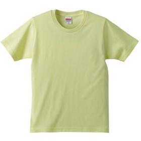 ユナイテッドアスレ UNITED ATHLE 5.0オンス レギュラーフィットTシャツ(キッズ) カラー [カラー:ライトイエロー] [サイズ:150] #5401-02C-487