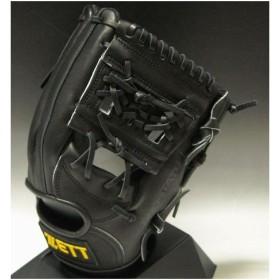 2011年モデル 一般軟式 ZETT(ゼット)プロステイタスRNT 二塁手・遊撃手用 右投げ(LH) BRGA31010 1900:ブラック