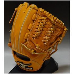 2012年モデル ミズノ グローバルエリート ライペックLシリーズ 一般軟式 内野手用E1 2GN35243 オレンジ:54 右投げ