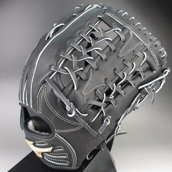 ミズノ MIZUNO 一般軟式外野手用 右投げ Global Elite QMライン 1AJGR12307(09)ブラック