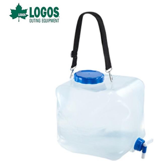 ロゴス LOGOS ポリタンク 抗菌広口水コン16L 81441621 od