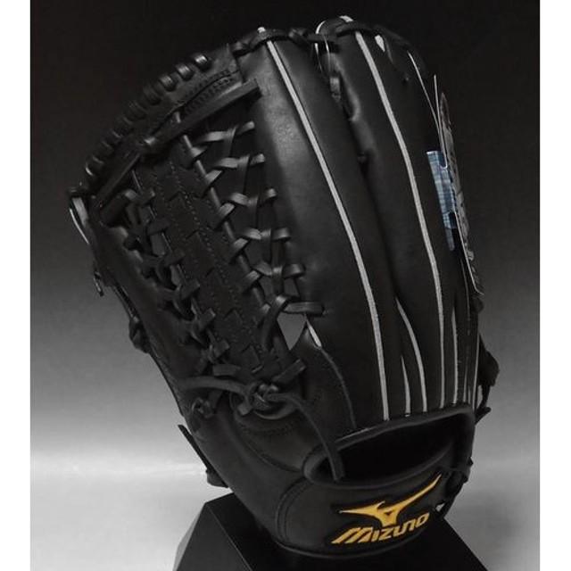 T−岡田モデル ミズノ プロフェッショナル 一般軟式外野手用 2GN35617 ブラック(09H) 左投げ