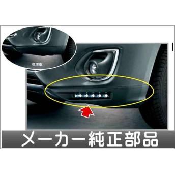 RVR フロントコーナーエクステンションのみ *LEDデイタイムランニングライトは別売 三菱純正部品 パーツ オプション