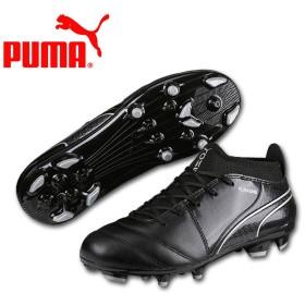 2017年秋冬モデル プーマ PUMA ジュニア用サッカースパイク プーマワン17.3HG JR ブラック 104444-03