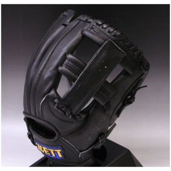 少年軟式 ZETT(ゼット)プロモデルシリーズ 森野モデル 内野手用 BJGA71910 ブラック:1900 右投げ(LH)
