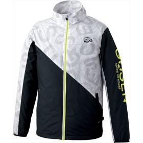 GOSEN(ゴーセン) (男女兼用 テニスウェア) ウィンドウォーマージャケット(裏起毛) ホワイト