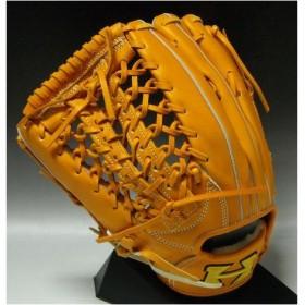 一般硬式 ハイゴールド〈HI-GOLD〉パーフェクトシリーズ 外野手用 PRG2218 カラー:オレンジ 左投げ用