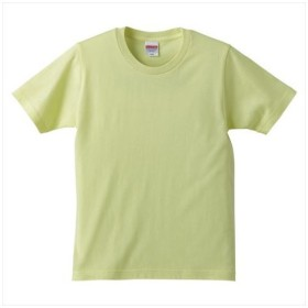 UnitedAthle(ユナイテッドアスレ) 5.0オンスTシャツ(キッズ) Lイエロー
