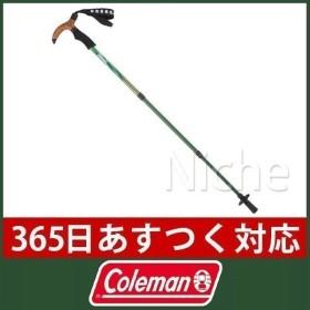 キャッシュレスポイント還元 Coleman コールマン T-2 トレッキングポール (フォレストグリーン)  2000026824 キャンプ用品