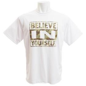 エックスティーエス(XTS) ドライプラス Believe in yourself2 半袖Tシャツ 751G8CD3516 WHT (Men's)