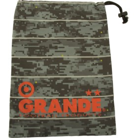 GRANDE(グランデ) GFPH15909 1535 フットサル DISITAL CAMO SHOES CASE GRY/RED 16SS