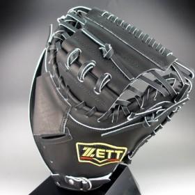 2018年モデル ゼット ZETT 一般軟式捕手用 右投げ PROSTATUS BRCB-30722(1900)ブラック