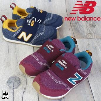 ニューバランス new balance 男の子 女の子 子供靴 ベビー キッズ チャイルド スリッポン KS620 ベビー靴 キッズ靴 ベビーシューズ ファーストシューズ 2色