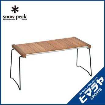 スノーピーク snow peak アウトドアテーブル 小型テーブル アイアングリルテーブルスリム CK-180 od