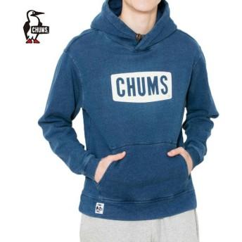 チャムス CHUMS スウェットパーカー メンズ チャムスロゴプルオーバーパーカインディゴ CH00-1097 od