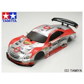 タミヤ TAMIYA SPパーツ SP.1268 OPEN INTERFACE TOM'S SC430 完成スペアボディ
