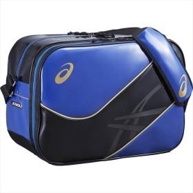 アシックス asics EBA622 JUNIOLE ENAMEL3 L EQトレーニング BAG JUNIOLE ブルー×ブラック