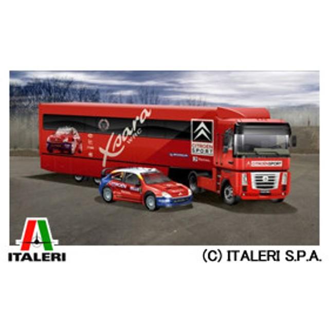 イタレリ ITALERI 1/24 トラック No.3830 シトロエンラリー04&クサラWRC