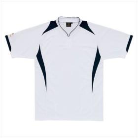 ZETT(ゼット) 【メンズ 野球・ソフトボール用ウェア】 プロステイタス ベースボールシャツ ホワイト/ネイビー