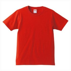 UnitedAthle(ユナイテッドアスレ) 5.0オンスTシャツ(キッズ) レッド