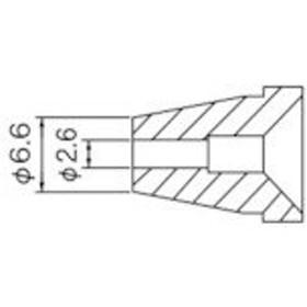 白光 ノズル/2.6mm (1本) 品番:N60-06