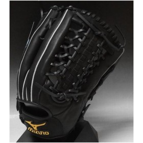 T−岡田モデル ミズノ プロフェッショナル 一般軟式外野手用 2GN35617 ブラック(09) 右投げ