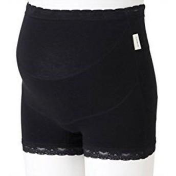 犬印本舗 らくはきパンツ妊婦帯 ブラック マタニティ Lサイズ ※ご注文頂いてからご発送まで7〜11日程頂戴しております