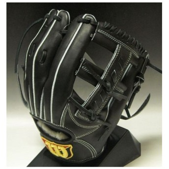 2013年モデル 硬式グラブ ウィルソンスタッフ〈Wilson Staffシリーズ) 内野手用 WTAHWMWW5L BK:ブラック 右投げ