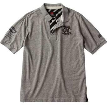 カンタベリー CANTERBURY ショートスリーブ ラガーポロ(メンズ) [サイズ:XL] [カラー:ミディアムグレー] #RA37115-15 S/S RUGGER POLO