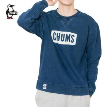 チャムス CHUMS トレーナー メンズ ボートロゴクルートップインディゴ CH00-1096 od