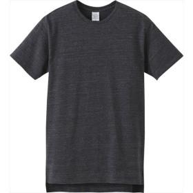 UnitedAthle(ユナイテッドアスレ) 5.6オンス ロングレングスTシャツ ヘザーブラック