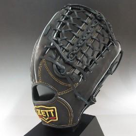 2014年モデル ZETT プロステイタス 一般軟式 外野手用 BRB30417 1900:ブラック 右投げ(LH)