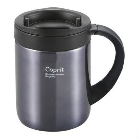 CAPTAIN STAG(キャプテンスタッグ) シーエスプリ ダブルステンレスマグカップ280(ブラック)